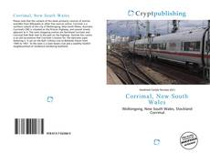 Bookcover of Corrimal, New South Wales