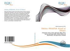 Bookcover of Amina Abdallah Arraf al Omari