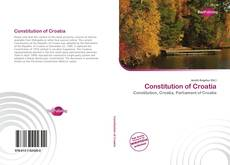 Constitution of Croatia的封面