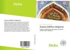 Zaouïa (édifice religieux) kitap kapağı