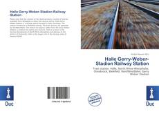 Bookcover of Halle Gerry-Weber-Stadion Railway Station