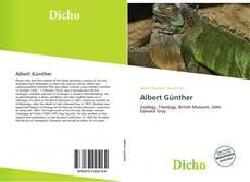 Albert Günther kitap kapağı