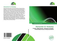 Bookcover of Alexander Q. Holladay