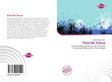 Portada del libro de First Air Force