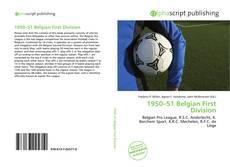 Portada del libro de 1950–51 Belgian First Division