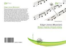 Portada del libro de Edgar Jones (Musician)