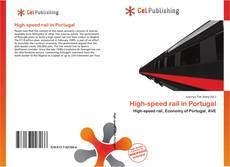 Capa do livro de High-speed rail in Portugal