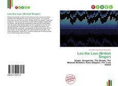 Copertina di Leo the Lion (British Singer)