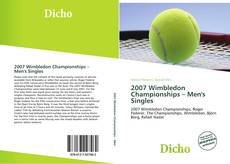 Bookcover of 2007 Wimbledon Championships – Men's Singles
