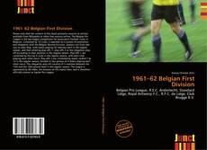 Portada del libro de 1961–62 Belgian First Division