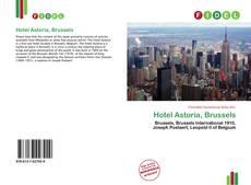Capa do livro de Hotel Astoria, Brussels