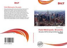 Capa do livro de Hotel Metropole, Brussels