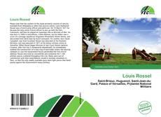 Buchcover von Louis Rossel