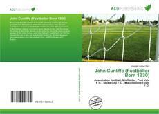 John Cunliffe (Footballer Born 1930) kitap kapağı
