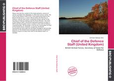 Buchcover von Chief of the Defence Staff (United Kingdom)