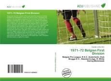 Portada del libro de 1971–72 Belgian First Division