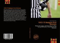 Portada del libro de 1972–73 Belgian First Division