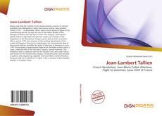Couverture de Jean-Lambert Tallien