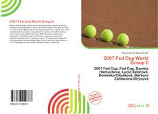 Обложка 2007 Fed Cup World Group II