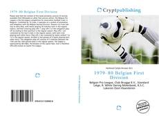 Portada del libro de 1979–80 Belgian First Division