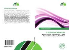Louis de Cazenave kitap kapağı