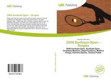 Buchcover von 2006 Sunfeast Open – Singles