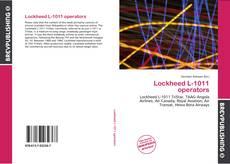 Borítókép a  Lockheed L-1011 operators - hoz