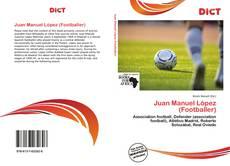 Capa do livro de Juan Manuel López (Footballer)