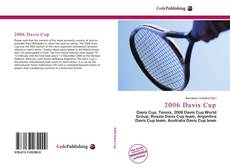 Bookcover of 2006 Davis Cup