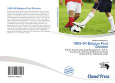 Bookcover of 1993–94 Belgian First Division
