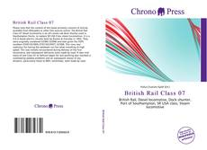 Capa do livro de British Rail Class 07