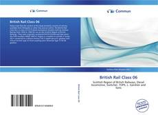 Capa do livro de British Rail Class 06