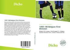 Portada del libro de 1997–98 Belgian First Division