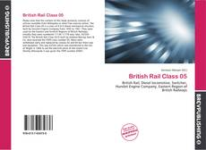 Capa do livro de British Rail Class 05