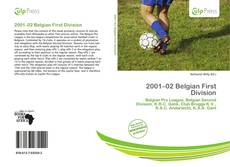 Bookcover of 2001–02 Belgian First Division