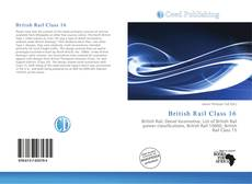 Capa do livro de British Rail Class 16