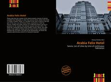 Borítókép a  Arabia Felix Hotel - hoz