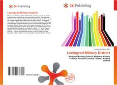 Bookcover of Leningrad Military District