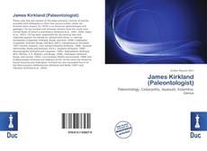 Capa do livro de James Kirkland (Paleontologist)