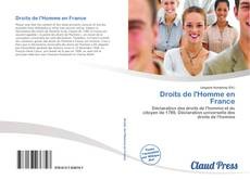 Portada del libro de Droits de l'Homme en France