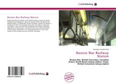 Bookcover of Boston Bar Railway Station