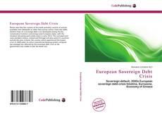 Buchcover von European Sovereign Debt Crisis