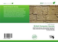 Capa do livro de British Computer Society