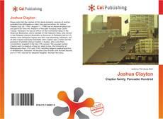 Portada del libro de Joshua Clayton