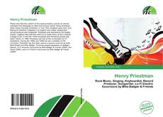 Portada del libro de Henry Priestman
