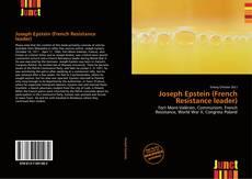 Portada del libro de Joseph Epstein (French Resistance leader)