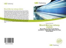 Buchcover von Mount Murray railway station