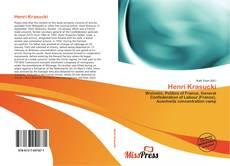 Henri Krasucki kitap kapağı