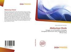 Обложка Abdoulaye Wade