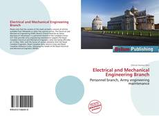 Electrical and Mechanical Engineering Branch kitap kapağı